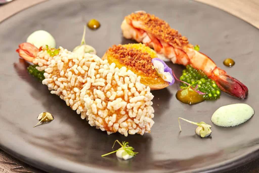 Cielo Tiger Prawn dish. Thailand Event Guide