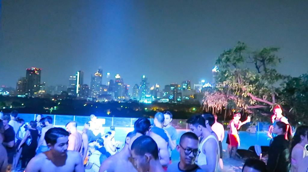So Sofitel Pool Party at Night. Thailand Event Guide
