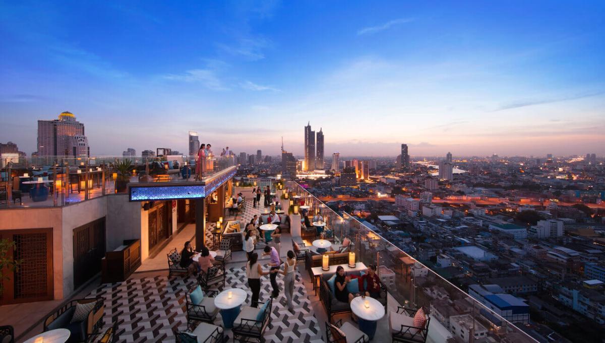 Paradise Lost - Brand New Bangkok Rooftop Bar