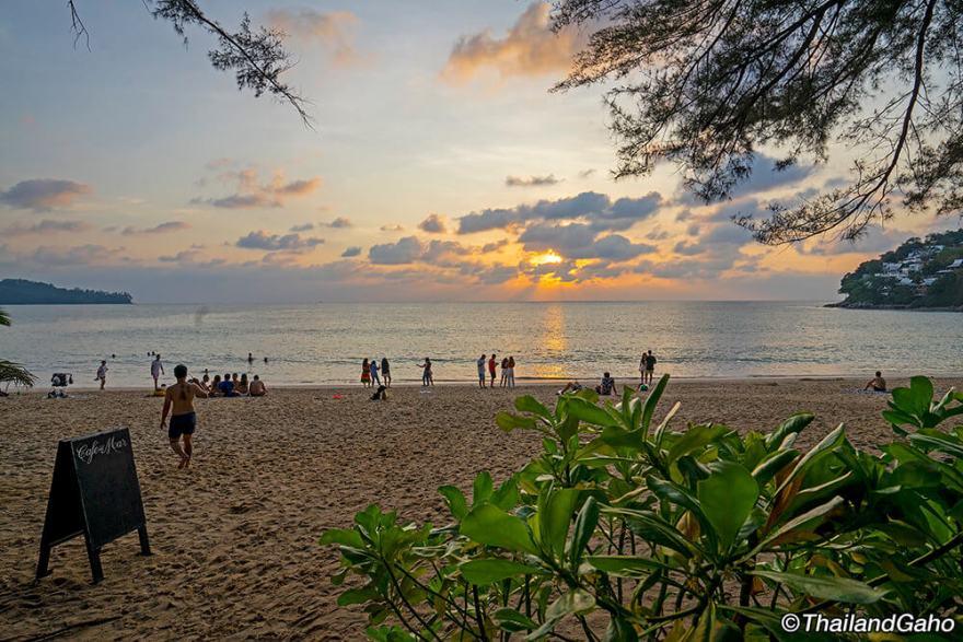 カマラビーチ サンセット