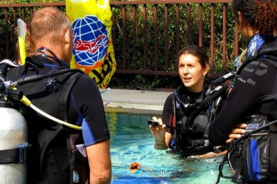 teaching confined water