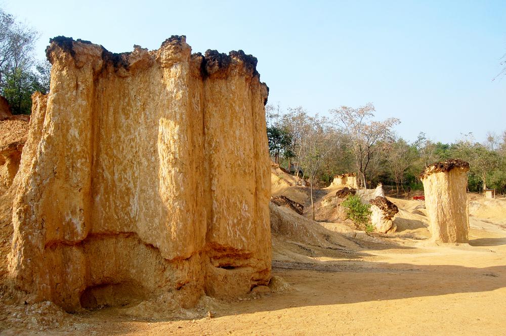 แพะเมืองผี (Pae Muang Phee) in Phrae