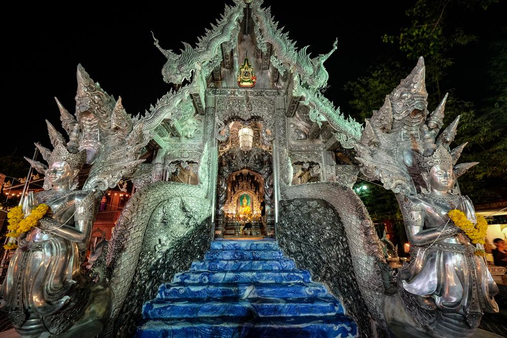 วัดศรีสุพรรณ (Wat Sri Supan) in Chiang Mai Thailand