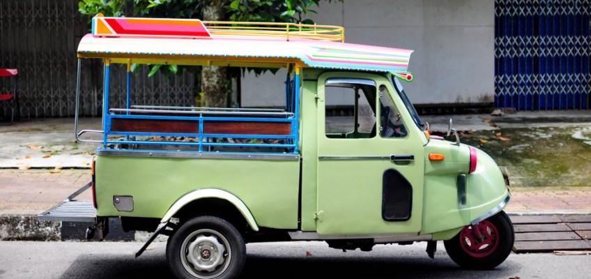 Frog Head Tuktuk (ตุ๊กตุ๊กหัวกบ)