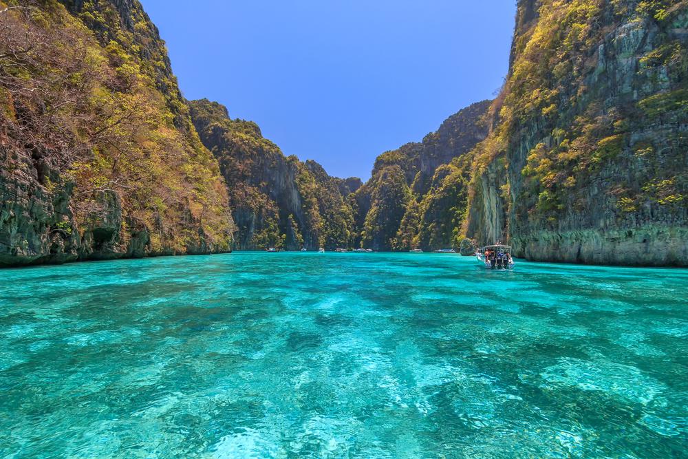Bay at Phi Phi Islands