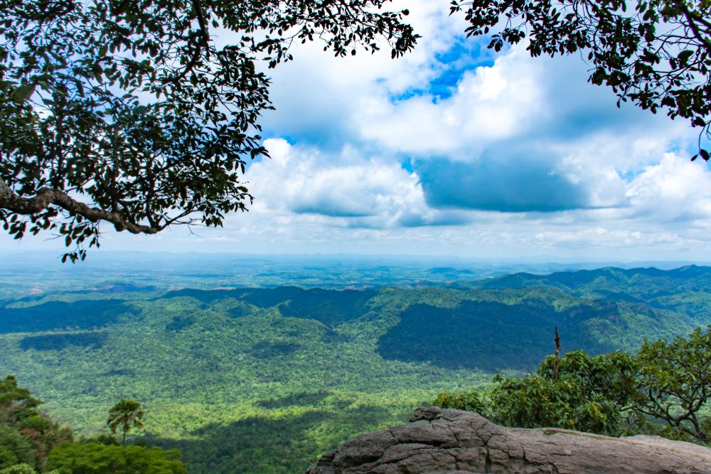 Sut Pandin Sightseeing Spot (จุดชมวิวสุดแผ่นดิน)