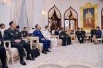China military courtesy call