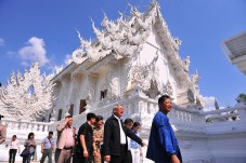 White Temple Wat Rong Khun - inspection