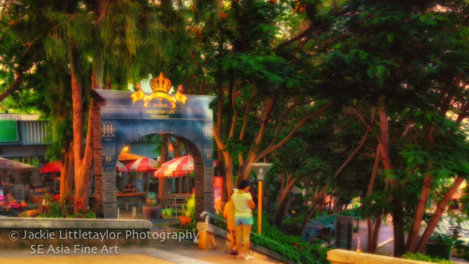 Cafe Tourist Promthep Cape Thailand Impression 16x9