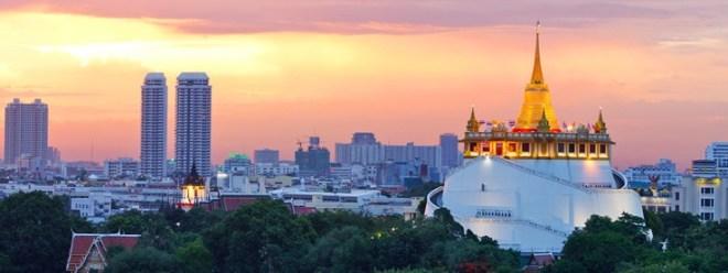 Храм Золотой горы бангкок