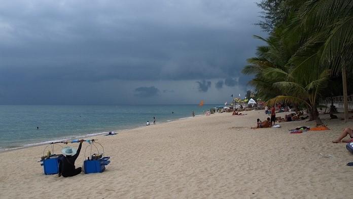 Дождь в Тайланде2