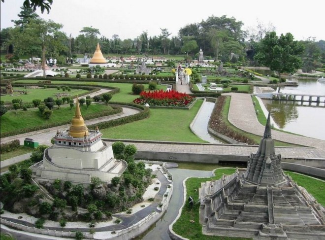 Парк мини – Сиам в Паттайе