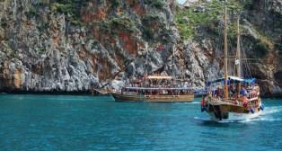 Прогулки на яхтах в Турции