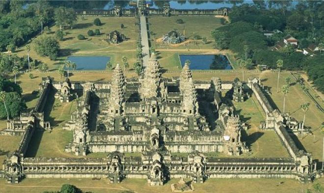 Город Ангкор в Камобдже