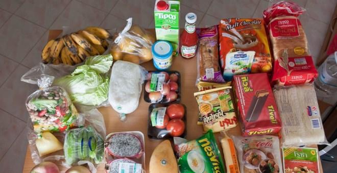 Европейская еда в Паттайе