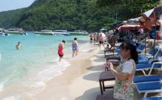 Остров Ко Лан - пляж Тонглан