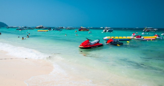 Остров Ко Лан - развлечения