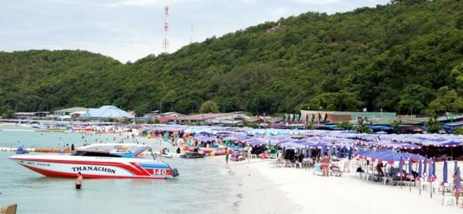 остров Ко Лан  на катере
