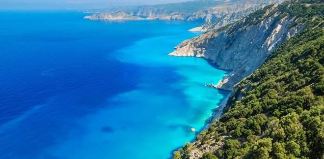 Ионическое море Греции