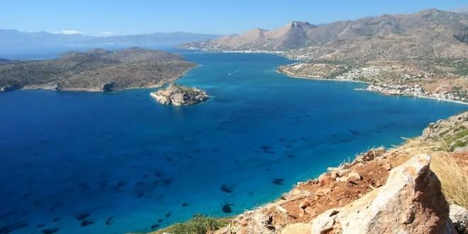 Критское море Греции