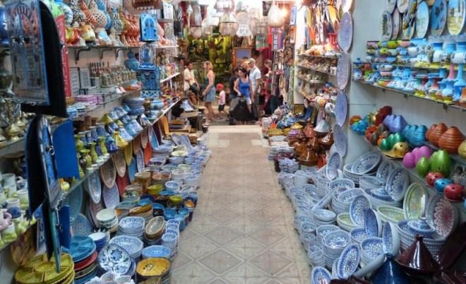 рынки Туниса