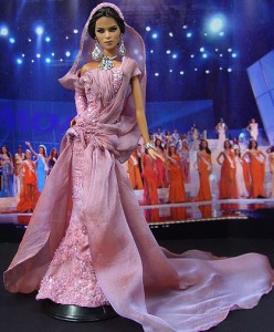 Платье Мисс Тунис (Abed Mafouz)