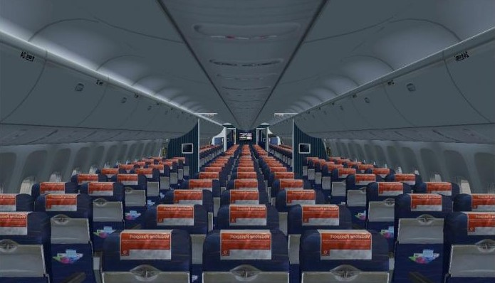 Boeing 767 300 схема салона azur air фото 835