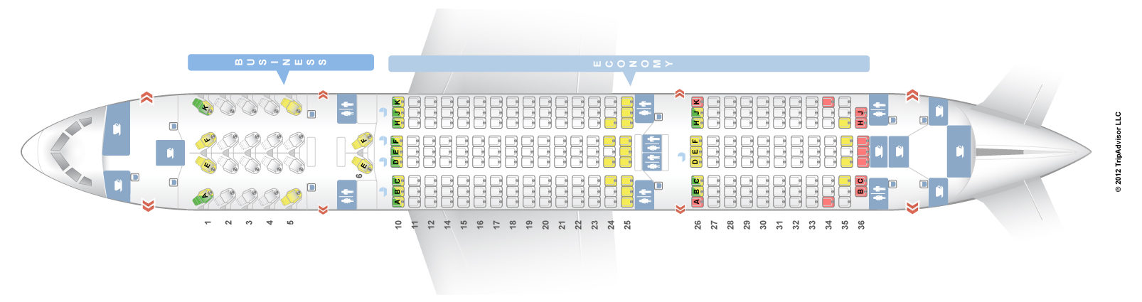 Схема боинг 737-800 россия схема салона.