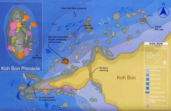 Остров Бон (Пхукет) на карте