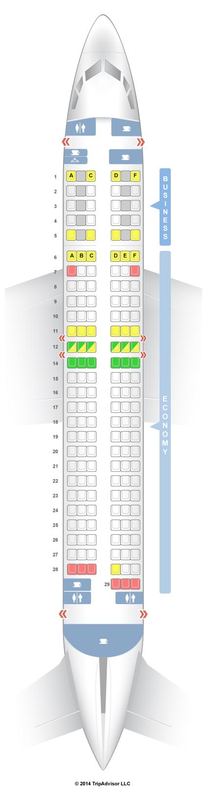 Боинг 787 схема салоне