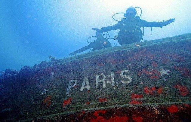 корабль «Paris» Кемер