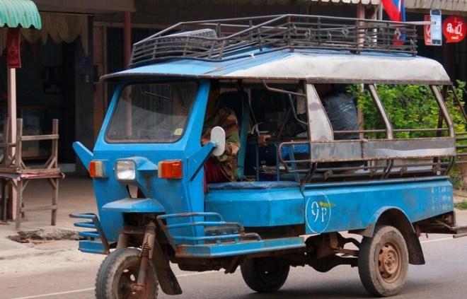 Такси Тук Тук в Паттайе