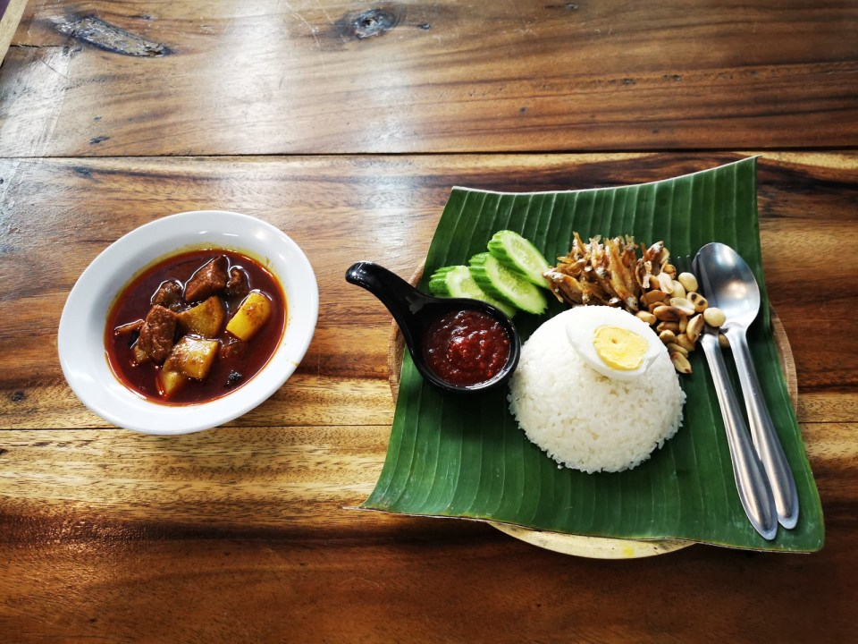 Malay food in Songkhla
