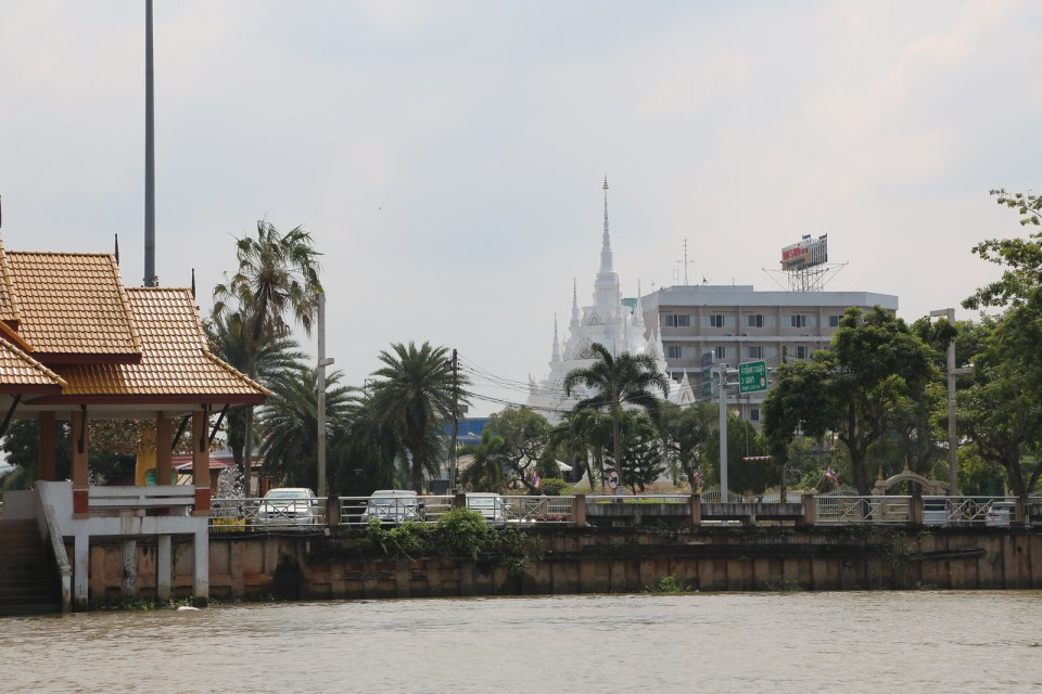 City Pillar in Surat Thani