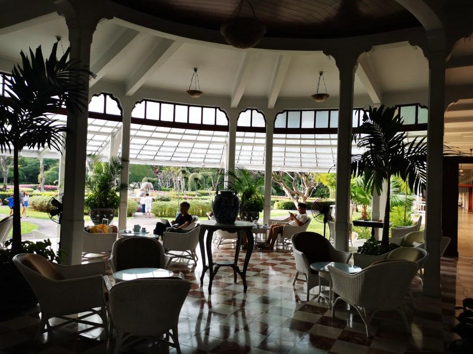 Railway cafe in Hilton