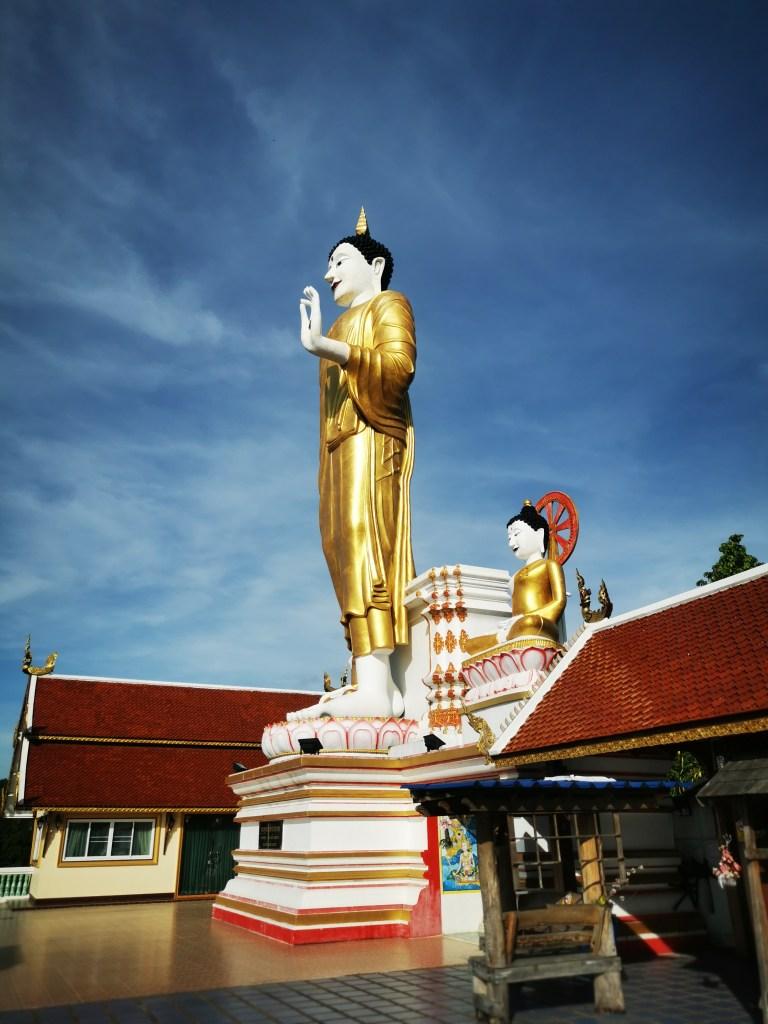 Standing Buddha at Wat Doi Kham