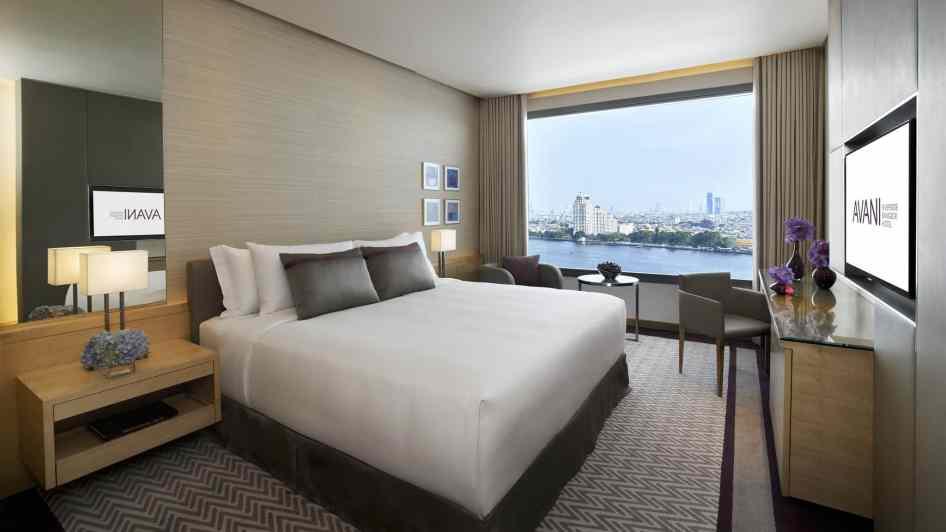 AVANI Riverside Bangkok_River_View_Room_King