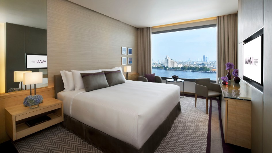 AVANI Riverside Bangkok_River_View_Room_King