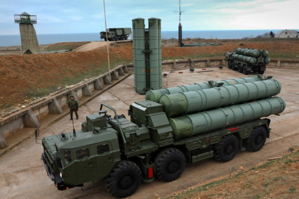 S-400 Triumph (SA-21 Growler) Air Defence Missile System ...