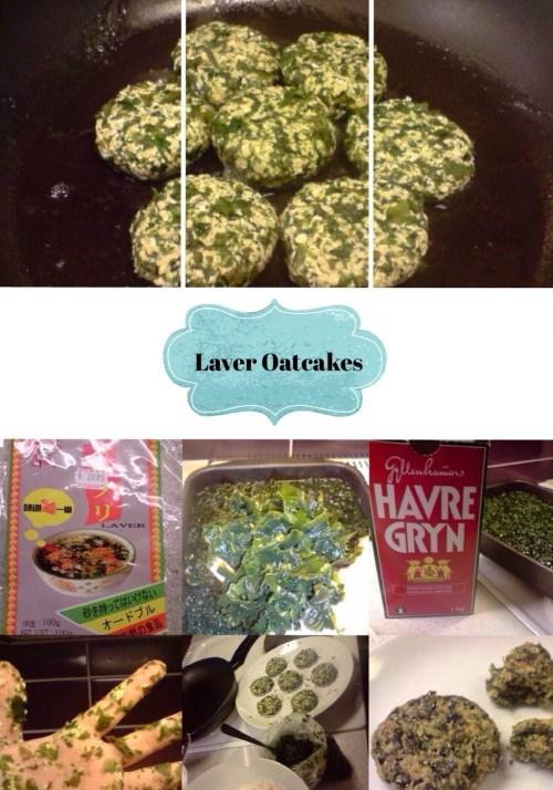 Laver oatcakes