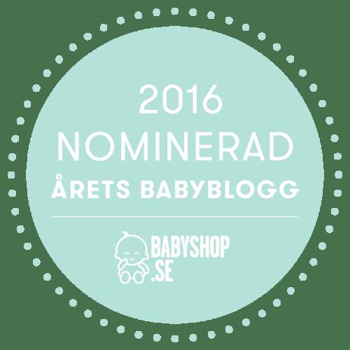Årets Babyblogg 2016 – Tävla med Babyshop