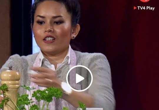Heja den här thaikvinnan  i Mästerkocken 2019!