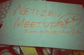 Netizen Meetup พบปะพลเมืองเน็ต 9 มิ.ย. 2556