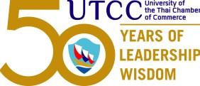 UTCC 50th anniversary logo