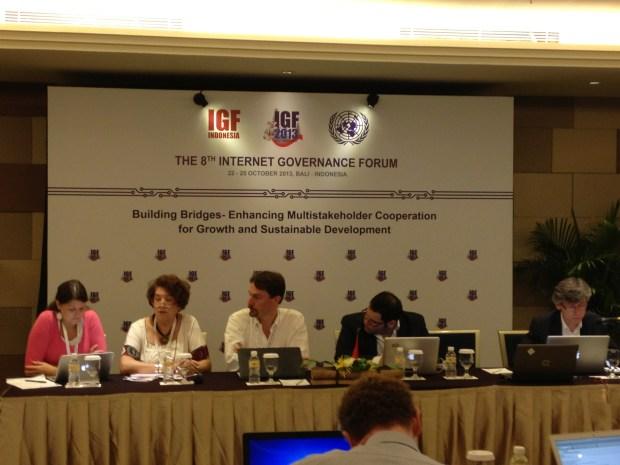 ผู้อภิปรายในหัวข้อ No. 203 -- Big data: promoting development and safeguarding privacy