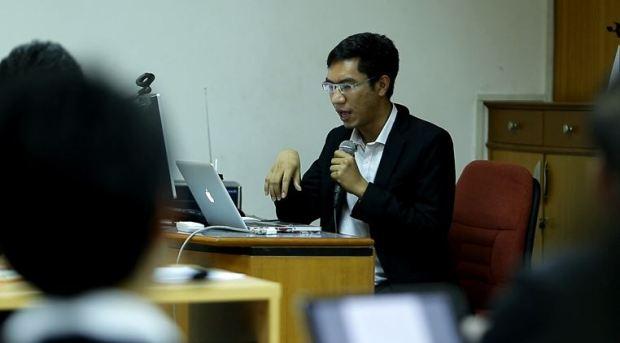 จุลศักดิ์ แก้วกาญจน์ นักวิจัยโครงการศึกษาเผยแพร่ความรู้ด้านนิติวิทยาศาสตร์คอมพิวเตอร์