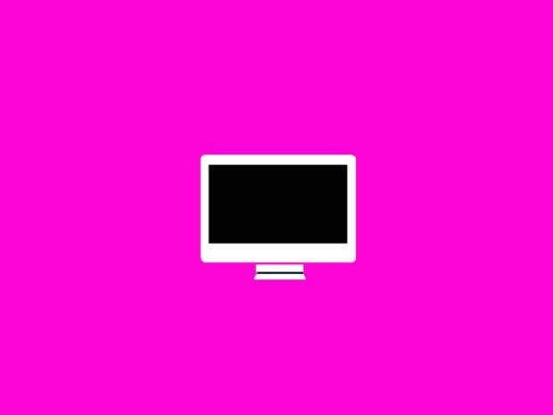 computer-pink