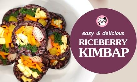 [easy] Riceberry kimbap
