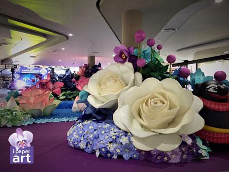 ดอกไม้กระดาษ อีเว้นท์ดอกไม้กระดาษ อีเว้นท์ สวนในห้าง