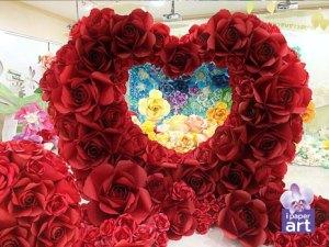 ดอกไม้กระดาษ ฉากงานแต่ง อีเวนท์